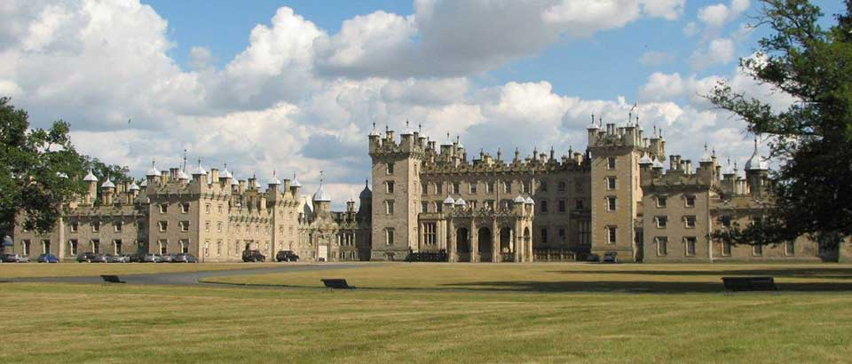 Floors Castle just outside Kelso