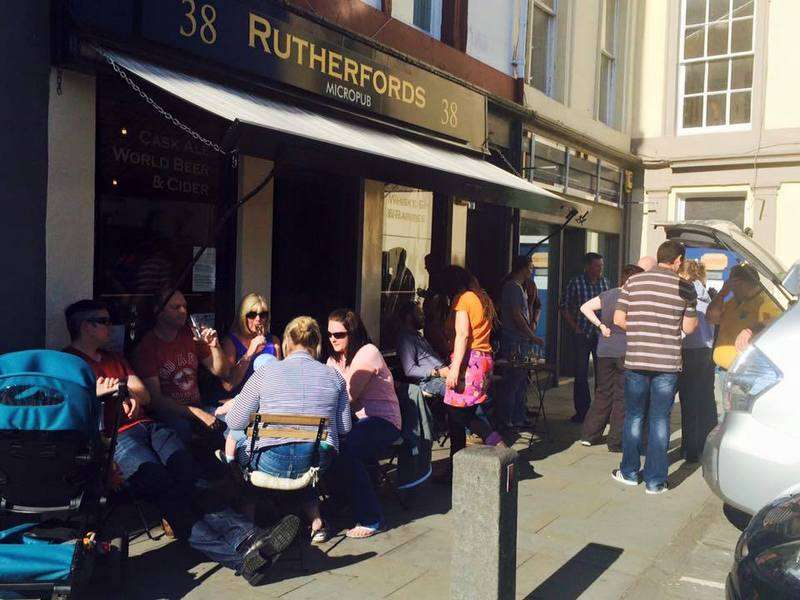 Rutherford's - Scotland first micropub in Kelso Square
