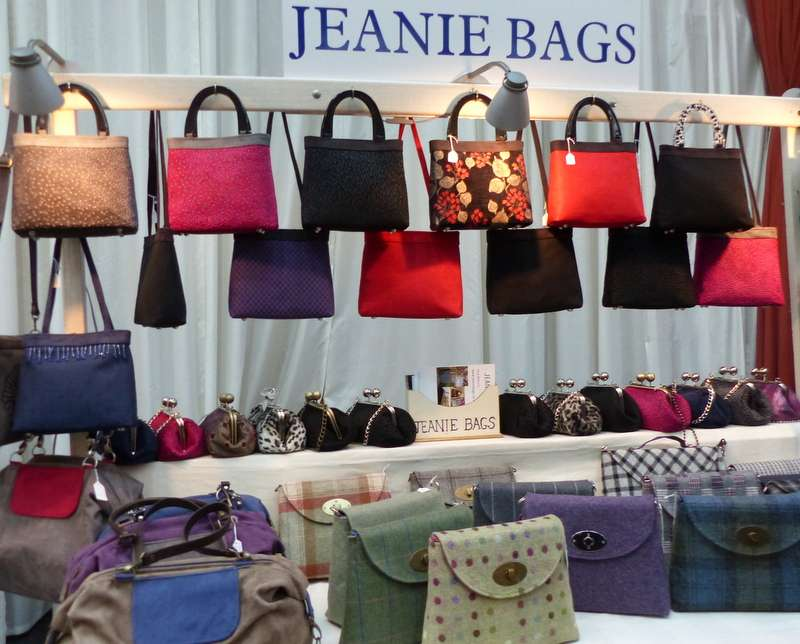 Always a great selection - Jeannie Bags - from Crafters in Melrose