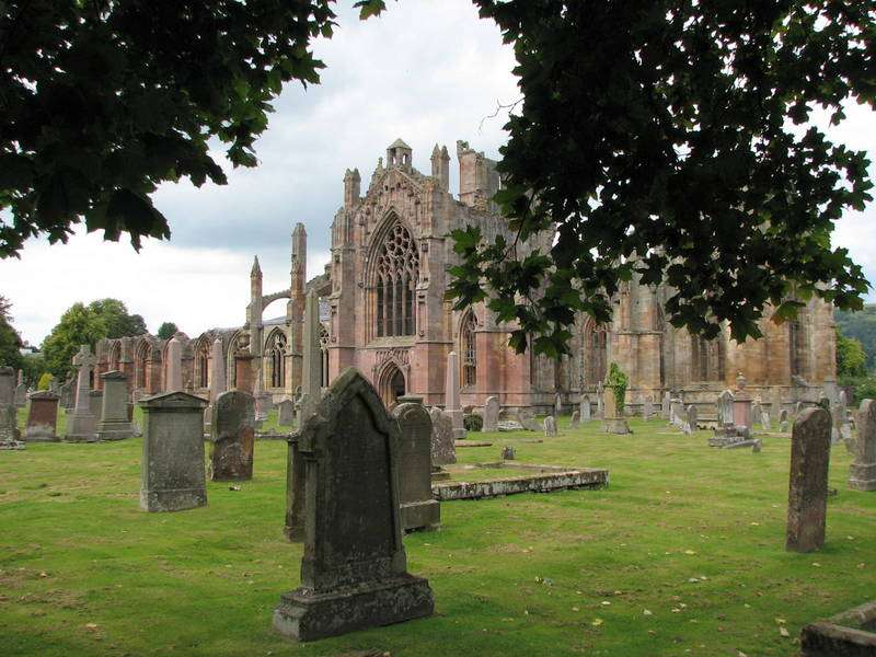 Melrose Abbey - one of The Four Border Abbeys