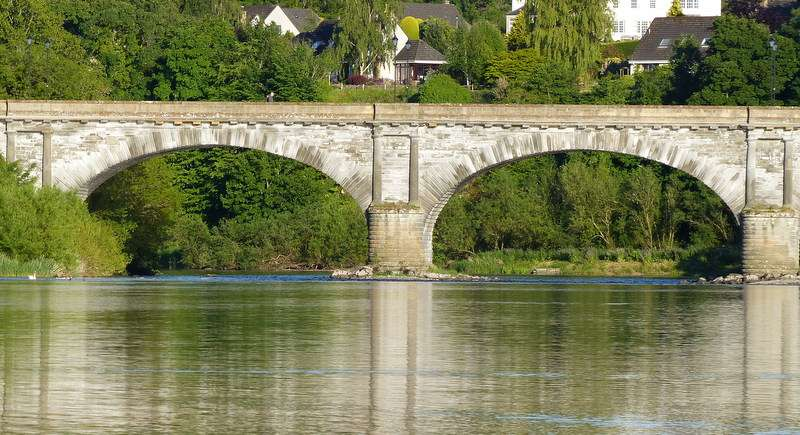 The Rennie Bridge over The River Tweed at Kelso