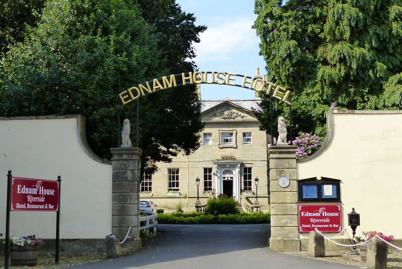 Ednam House Hotel on the banks of the River Tweed