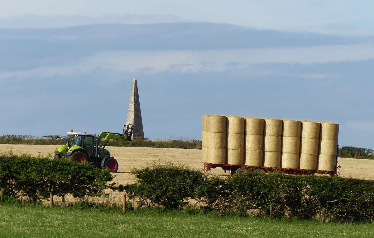 The Thomson monument - on the move!