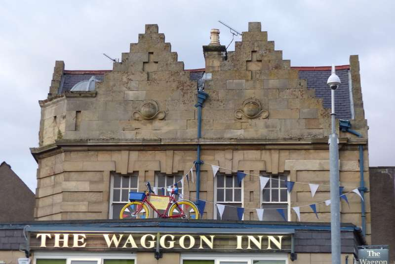The Waggon Inn, Kelso, for great pub grub
