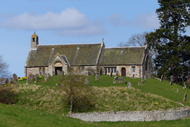 Looking for family links in The Borders - Linton Church - near Morebattle