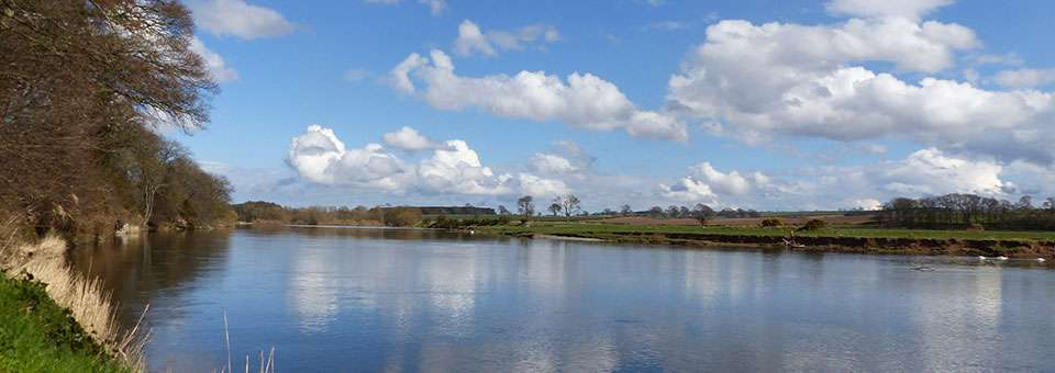 ... wonderful views over The River Tweed.
