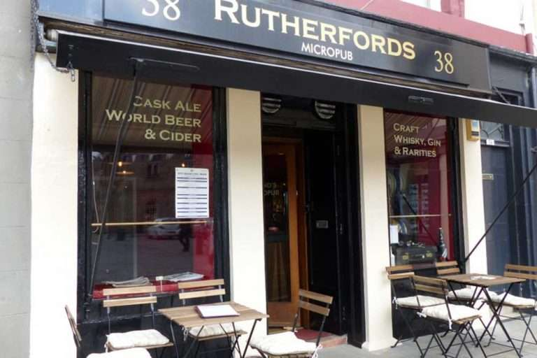 Rutherfords, the first micropub in Scotland